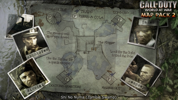 Call Of Duty Zombie Maps: How They Rank | LGG Call Of Duty World At War Zombie Maps on